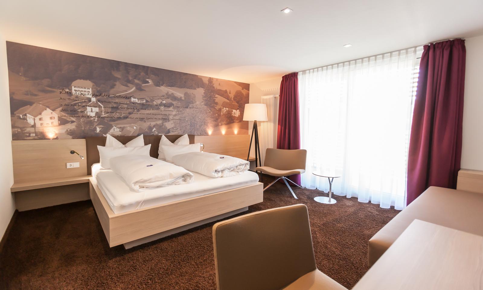 Superior Hotelzimmer Schwarzwald